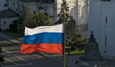 Russian Flag- Catherine the Great also learned how to speak Russian.