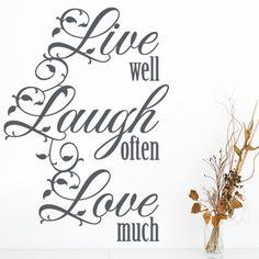 "Style and Apply Live Well Quote Wall Decal Size: 35"" H x 24"" W, Color: Silver"