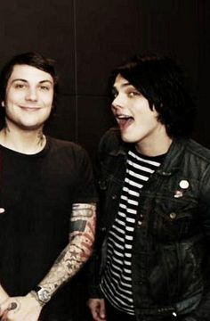 My Chemical Romance ~ Frank Iero and Gerard Way