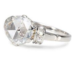 Dreams Realized: Fabulous 1.17 c Diamond Ring - The Three Graces