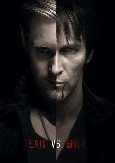 Eric vs Bill - True Blood