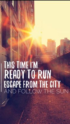 Ready To Run-One Direction