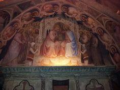 Around St. Anthony's cloister in Padova, Veneto