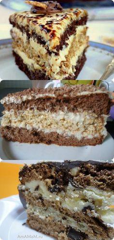 Очень вкусный торт «Халва»