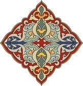Arabesque Designs (Page 2) - stock illustration clip art. Buy royalty free clipart images on disc by Lushpix Illustration