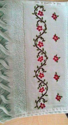 The most beautiful cross-stitch pattern - Knitting, Crochet Love Cross Stitch Letters, Cross Stitch Bookmarks, Cross Stitch Borders, Cross Stitch Rose, Cross Stitch Samplers, Cross Stitch Flowers, Modern Cross Stitch, Cross Stitch Charts, Cross Stitch Designs