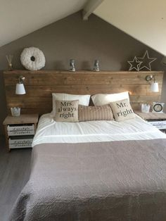 Homemade scaffolding wooden bed rnrnSource by Home Bedroom, Bedroom Wall, Bedroom Decor, Homemade Beds, Bed Wall, Diy Bed, Trendy Bedroom, Bed Design, Home And Living