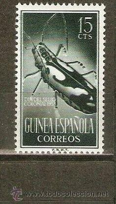 GUINEA ESPAÑOLA EDIFIL NUM. 332 ** NUEVO SIN FIJASELLOS