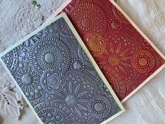 Framed Scrapbook Paper, Embossed Cards, Paper Frames, Mosaic Designs, Card Envelopes, Color Card, Embossing Folder, Greeting Cards Handmade, Your Cards