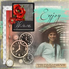 Layout using Lifetime by Studio Rosey Posey