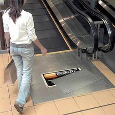 Auch Duracell versuchte sein Glück mit Guerilla Marketing. Eine großartige Ambient Marketing Idee mit viel Potenzial!