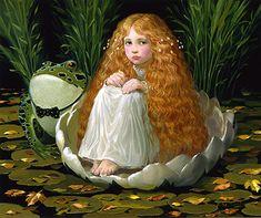 Tommelissa ~ Hans Christian Andersen