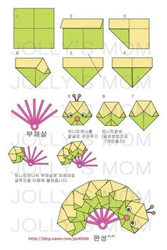 Origami Charming Rose Instructions Diagram