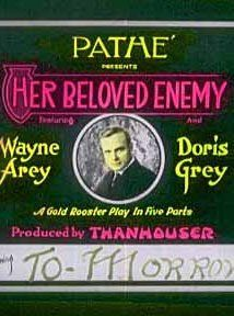 Her Beloved Enemy (1917) Poster