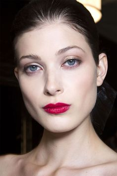 Makeup Trends for Spring 2015 / Flaming Lips / CAROLINA HERRERA.