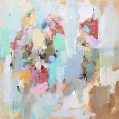 """Lenox Road I"" 24×24 on gallery wrap"