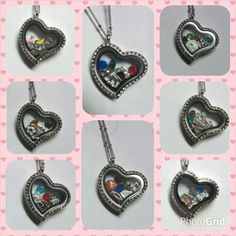 Love Locket examples. Go to www.ourheartsdesire.com/MelindaWedgewood to view all product lines, items, and order!