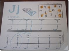 J for jewel Letter J Activities, Little Monkeys, December, Jewels, Map, Lettering, Jewerly, Location Map, Drawing Letters