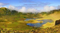 Lagoa do Caldeirão - Ilha do Corvo, Açores