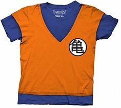 Dragon Ball Z Goku Fighting Uniform Costume Cosplay Licensed Adult Shirt (Xx-large) @ niftywarehouse.com