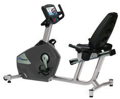 """Nautilus® Cardio R10 Recumbent #Bike with 7"""" touch screen Nautilus Cardio R10 #recumbent #bike features contact heart rate sensors and wireless telemetry; water bottle holder; 7? touch screen with iPod connectivity. R10 Recumbent Bike with 7"""" touch screen"""
