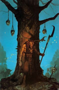 Gerald Brom. Fantasy paintings by Gerald Brom. - supersonic electronic / art