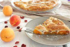 Gâteau fin à l'abricot, sans sucre et sans beurre