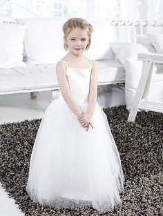 de3a1c6310a Lovely Tulle A-Line Gown Floor-Length Flower Girl Dresses