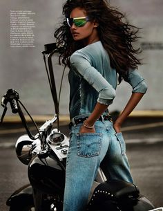 Malaika Firth by Mario Testino for Vogue Paris April 2014