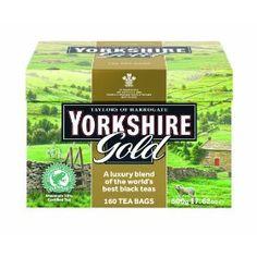 Taylors of Harrogate, Yorkshire Gold Tea, 160-Count Tea Bags #Tea #coffe #Yummy #chef