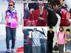 Every one so serious about airport fashion,,,