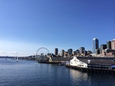 From Ferry to Bainbridge Island