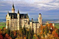 Neuschwanstein Castle - Hohenschwangau, Germany