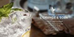 Smooth, satisfying and simple. Grey Goose L'Orange offers the zest and zeal your party needs.  #SummerSoiree