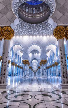 The Mosque - Sheikh Zayed, Abu Dhabi by julian john on 500px