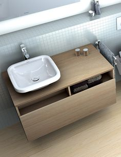 Duravit DuraStyle 1000mm 1 Drawer Vanity Unit