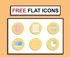 FREE Flat Office Icons on Behance Office Icon, Jobs Apps, Online Portfolio, User Interface, Icon Design, Graphic Design, Art Direction, Adobe Illustrator, Behance