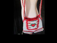 Trachtentasche fürs Dirndl, eigener Entwurf und Idee, zu finden bei Dawanda unter Buntewollideen