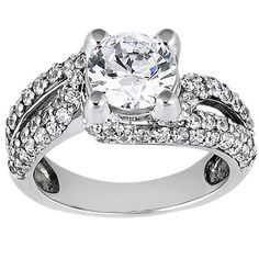 Prong Set Diamond Engagement Ring (1.11 ct.tw.)