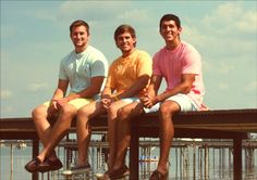 Grant, Nik, and Tyler of Whistling Golf- a chill preppy tee company