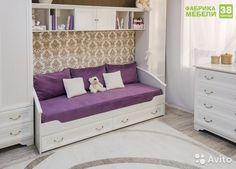 Кровать для девочки в стиле прованс купить в Республике Татарстан на Avito —…