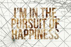 "Oliver Gal ""Pursuit of Happiness"" Canvas Wall Art"