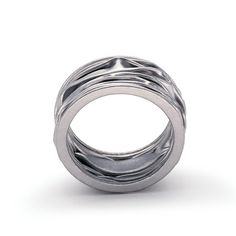 Niessing - Plisse Wedding Ring - ORRO Contemporary Jewellery Glasgow - www.orro.co.uk