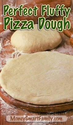 Quick Bread Recipes Super Page - You've got to try these recipes! How to make perfect, fluffy pizza dough every time.How to make perfect, fluffy pizza dough every time. Fluffy Pizza Dough Recipe, Best Pizza Dough, Good Pizza, Best Calzone Dough Recipe, Home Made Pizza Crust, Home Made Pizza Dough Recipe, Pizza Dough Bread Machine, Quick Bread Recipes, Pizza Recipes
