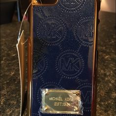 iPhone 6/6s cell phone cover dark blue nwt iPhone 6/6s cell phone cover dark blue new with tags Accessories Phone Cases