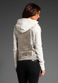 i like this but is $333 worth it?! - CITIZENS OF HUMANITY JEANS Hesher Studded Jacket in Flash at Revolve Clothing $333