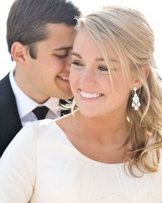 Beautiful wedding pictures by Rebekah Westover.  oh ya, and her wedding dress has pockets.
