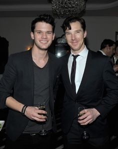 """""""Ben and Jeremy Irvine"""" - Aw, Ben looks so lovely in this photo. :)"""