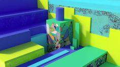 Berlin-based art studio ZEITGUISED talk us through the fluid materiality of their 0% organic algorithms...