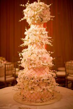 martha stewart wedding; pink and gold - Google Search